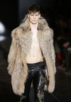 Versace Fur & Leather AW13