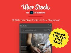 UberStock Extension for Photoshop by Anton Lyubushkin