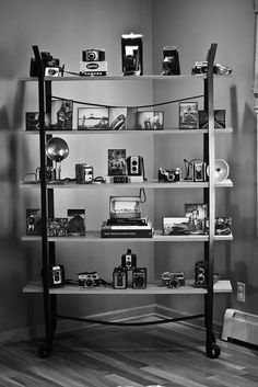 Perfect example of what I want my Polaroid collection setup to look like.
