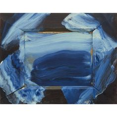 British painter and printmaker Blue Abstract Painting, Abstract Paintings, Howard Hodgkin, Magical Paintings, Creative Colour, Deep Water, Art For Sale, Beautiful Images, Gallery