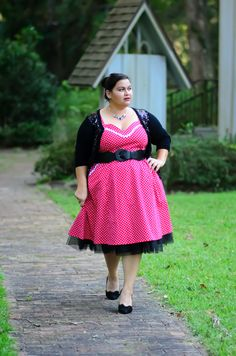 Fleming Island Vintage Places church on Kirstin Marie  #curvy #ootd #plus