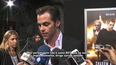 """Chris Pine é o astro do filme """"Jack Ryan"""""""