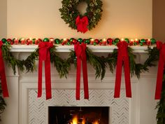 1000 Images About Deco Mesh Fireplace On Pinterest Deco