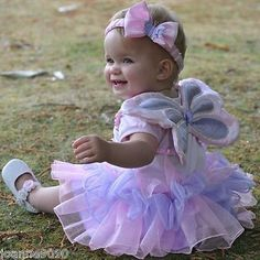 Girls baby toddler fairy angel wings #princess tutu #butterfly fancy dress #costu,  View more on the LINK: http://www.zeppy.io/product/gb/2/190931943648/