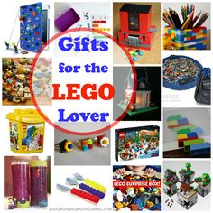 Do you have a lego lover in your life? Well, we've got one AWESOME round-up of Gifts for the Lego Lover. There are gifts you can make and gifts you can buy for lego lovers big and small. sunshineandhurricanes.com
