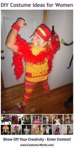 Hulk Hogan - tons of DIY costume ideas