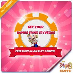 myvegas blackjack free chips code