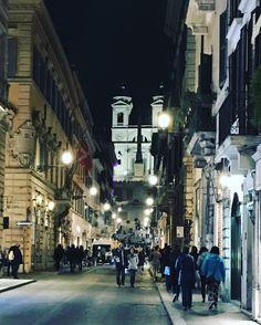 Via Condotti, Rome #shopping #luxurylifestyle #luxurytravel #rome #theeternalcity