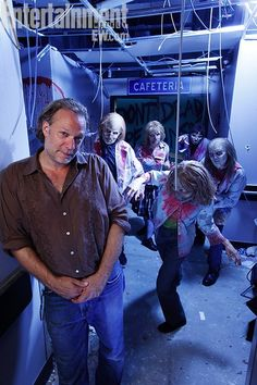 Greg Nicotero - The Walking Dead. MY HERO! Love this man!