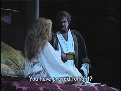 Renee Fleming and Placido Domingo in Verdi's Otello act, Saw Otello at the Met last night, with Renee Fleming singing Desdemona. She hasn't changed a bit in 16 years. Renee Fleming, Opera Singers, Conductors, Classical Music, My Passion, New Life, Musicals, Acting, Diva