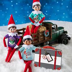 The Elf on the Shelf® Claus Couture Sweet Tees Multi-pack Set