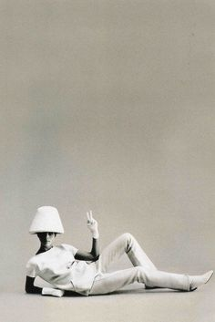 Fashion by Andrew Courreges, 1960s