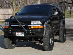 Jeep stinger fabbed for the S10 Truck, Chevy Luv, S10 Blazer, Old Jeep, Chevrolet Blazer, Lifted Trucks, 4x4, Blazers, Nice