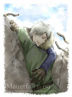 Hetalia- Prussia and Germany. (The Fall of the Berlin Wall)