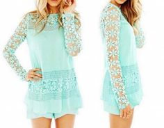 P.S. I Love You More Boutique | Falling For You Top in Mint | . Summer Fashion 2015. www.psiloveyoumoreboutique.com