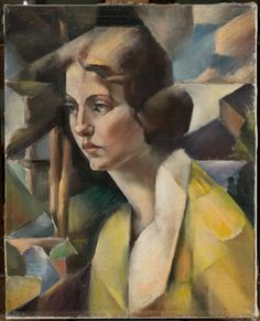 Portrait of a Young Woman, 1921 Mainie Jellett