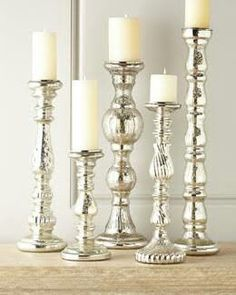 Floor candle holders