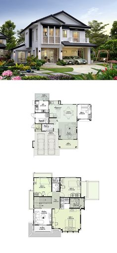 You wish to furnish your house with functional and thoroughly durable items you could depend on, without needing to burn a hole in your pocket. The Mi. Sims House Plans, Dream House Plans, Modern House Plans, Small House Plans, House Floor Plans, Courtyard House Plans, Facade House, Minimalist House Design, Modern House Design