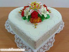 Torta Veľké srdce _ Big Heart _ Ako na to? hobby torty od Ivanky a Slavomíra * How? hobby cake * Jak na to? hobby dorty