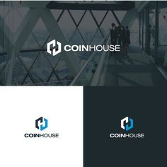 """COINHOUSE - Logo &  pour le leader fran?ais du """"Cryptocurrencies Exchange"""" The desired LOGO shall not explicitly represent money or cryptocurrencies : Euro, $, Bitcoin(BTC), Ethereum (ETH). It s"""