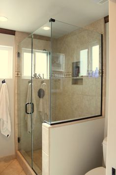 glass shower half walls frameless shower master suite pinterest half walls house wallpaper