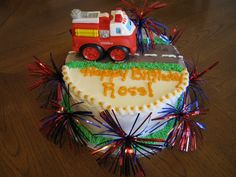 A birthday cake for