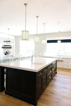 24+ Distinctive Pendant Lights For Kitchen Island Gives You Wow Factor # kitchens #kitchenisland #kitchenislandideas & Fabulous Interior Design For Small Kitchen 46 ...