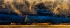 Desert Rainbow near Thompsonville Utah