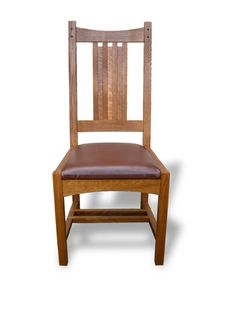 Arts and Crafts side chair- Kevin Rodel
