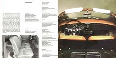 1964 Porsche 356C U.S. brochure page 12 & 13