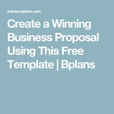 Business proposal templates examples business proposal for 3pl rfp template
