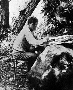 """Jack London grew up in San Francisco and by 17 pushed off: to Hawaii, Japan, northwest Canada and books such as """"The Call of the Wild."""""""