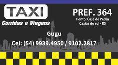 Taxi - cartao de visita / business card