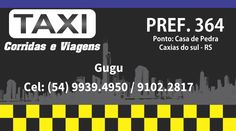 Taxi - cartao de visita / business card