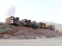 Casa Horizonte - Casa rural en la Vall de Bianya (Girona) | RCR Arquitectes