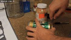 DIY popcorn maker.