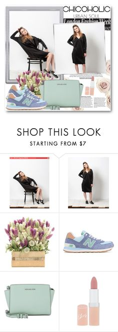 """""""TheChicoholic 4"""" by fashionmonsters ❤ liked on Polyvore featuring New Balance, Michael Kors and Rimmel"""