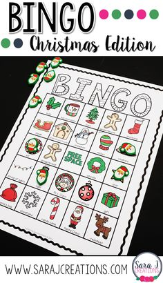 Have a blast at your Christmas party with Christmas Bingo. Perfect for kids! These printable cards include 30 different game boards so just print and play with your large group. Christmas Bingo, Christmas Activities For Kids, Bingo Cards, Printable Cards, Bingo For Kids, Catholic Kids, Game Boards, Different Games, Early Literacy