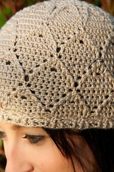 Diamond Pattern Women's Beanie   Taupe  One of by OliJAccessories, $25.00
