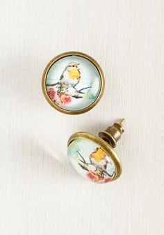 Perch Thing's First Earrings, @ModCloth