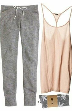 """Softly"" by vv0lf on Polyvore  Love this for home/loungewear"
