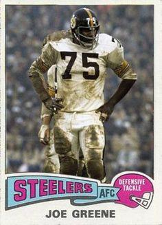 Joe Greene Pittsburgh Steelers Best Football Team f86166a62