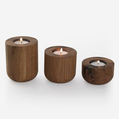 Cup Candle Holders | Wooden Candle Holders | Simply Tabletop UK