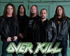 OverKill...saw them at our local bar in small town Cumberland MD awesome as all feck :D