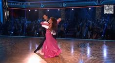 Dancing With the Stars Season 16 Finale: Lisa Vanderpump and Len Goodman Dance the Foxtrot
