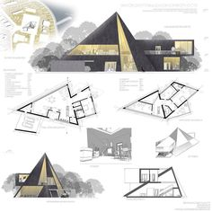 Amazing sketch by archisketch archisketcher architects ________________________________ . Use arcfly tag to get featured. Plan Concept Architecture, Sketchbook Architecture, Library Architecture, Architecture Presentation Board, Pavilion Architecture, Architecture Portfolio, Futuristic Architecture, Presentation Boards, Triangular Architecture