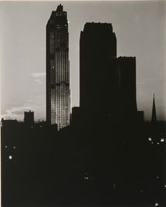 New York from the Shelton, Alfred Stieglitz, 1935