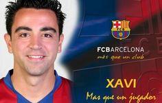 Xavi Hernandes Barcelona Forever