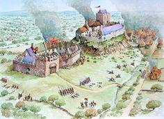 Cromwells Destruction c1650, Clogh, Co Antrim