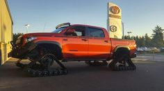 """See 10 photos and 6 tips from 127 visitors to Toyota of Olympia. """"The people who work here are amazing, I got a great price on a brand new Camry with. Custom Tundra, Toyota Tundra Trd Pro, Tundra Truck, Expedition Vehicle, Fender Flares, Olympia, Four Square, Offroad, Planes"""